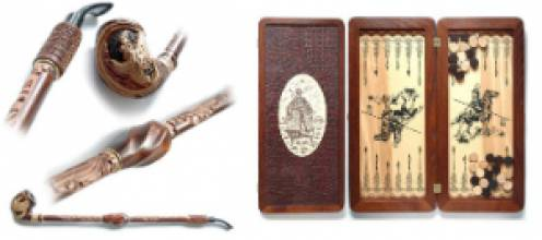 Творческая ассоциация «Декор» запустила в продажу новую серию подарков из дерева