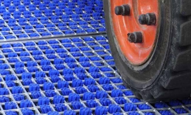 Высокоэффективная защита производства от грязи - система очистки шин ProfilGate