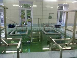 Подводное вытяжение позвоночника дает чрезвычайно высокий терапевтический эффект