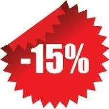 """Остання липнева 15% знижка від """"Ековод""""!"""