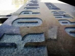 Гравірування на граніті піскоструєм стало ще доступнішим!
