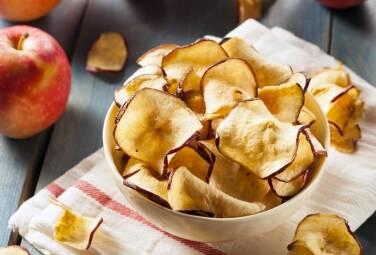 Внимание! Важная информация для любителей здоровых перекусов – у нас можно купить низкокалорийные чипсы из фруктов!