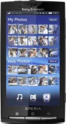 Sony Ericsson представляет новую модель телефонов Xperia X10