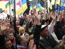 Социологи: Рост революционных настроений в Украине