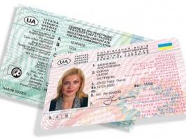 Водительские права украинцам будут выдавать на 50 лет.
