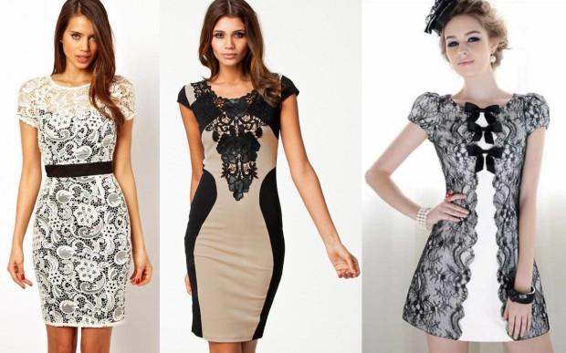 04b903a36a6 Крайне интересной новинкой модного сезона окажутся платья из  перфорированных тканей – кружевными их уже не назовешь