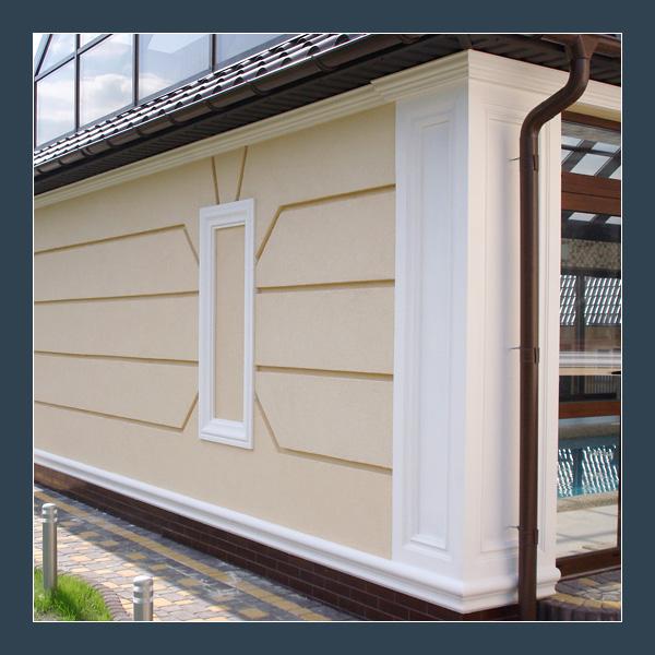 Декоративная фасады из пенопласта своими руками 65